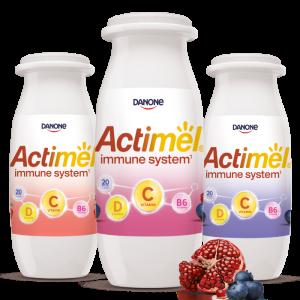 c vitamin actimel palackok